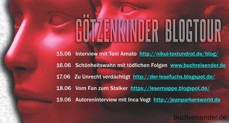 Blogtour Götzenkinder Toni Amato Inca Vogt